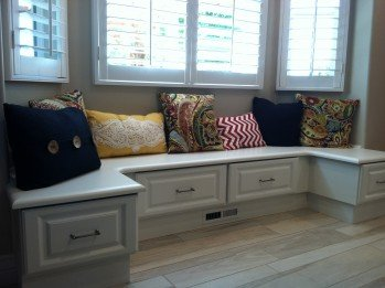 Bench Seat Cabinets For Multi Purpose Storage Needs