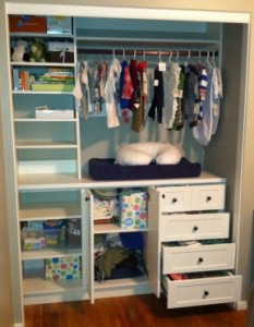 Smart closet designs for reach in closets