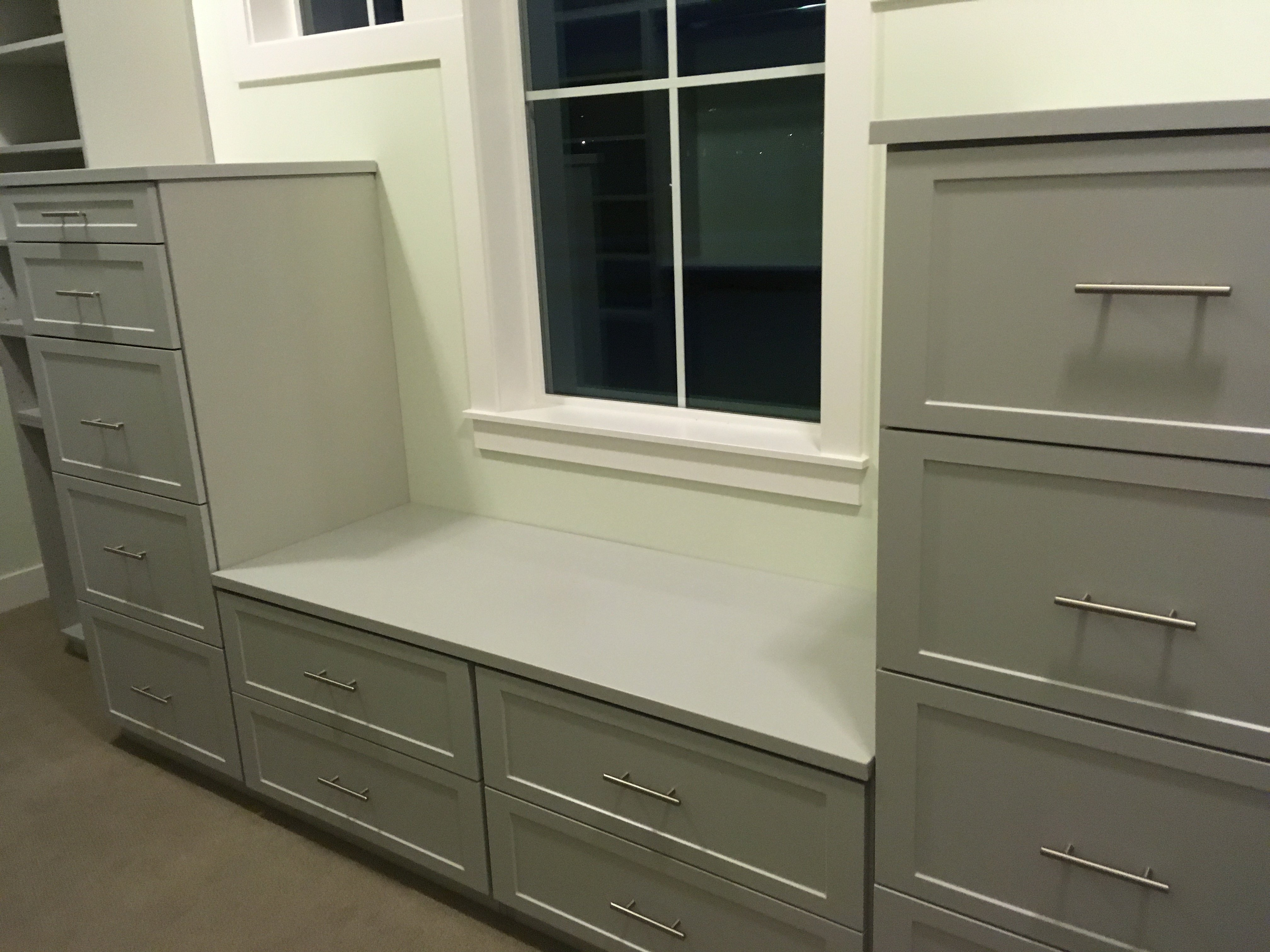 Assorted Custom Walkin Closets