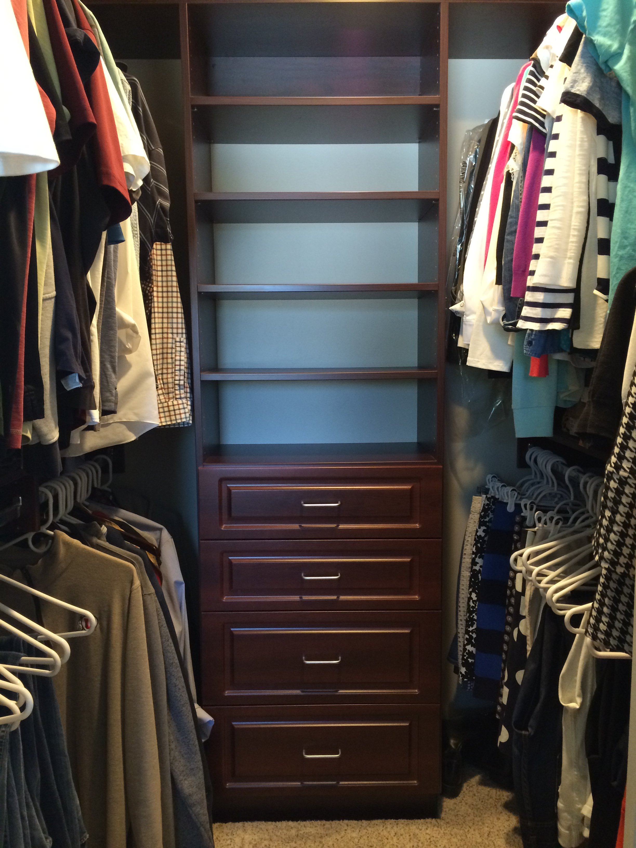 Gentil Assorted Custom Walkin Closets